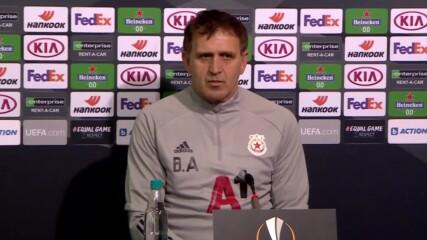 Пресконференция на ЦСКА преди мача с Йънг Бойс
