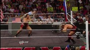 Zeb Colter and Lana participate in a United States-russia Detente: Raw, July 14, 2014