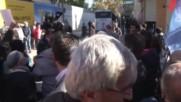 Turkey: Scuffles break out at Cumhuriyet newspaper protest in Istanbul