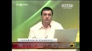 Господари на ефира 09/07/2009 Смях със прическата на Теодор Ангелов от Скат.