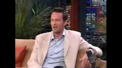 Matthew Perry With Jay Leno