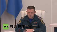 Russia: EMERCOM announces departure of plane carrying bodies to Russia