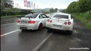 Very Loud Meisterschaft Nissan R35 Gt-r vs Bmw E92 M3 w Supersprint Exhaust! - www.uget.in