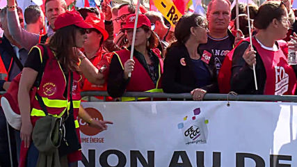 France: EDF workers strike against restructuring of energy company