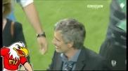 Байерн 0:2 Интер - Моуриньо Сълзи и Радост