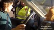 Пича си направи бъзик с полицията, по много оригинален начин!