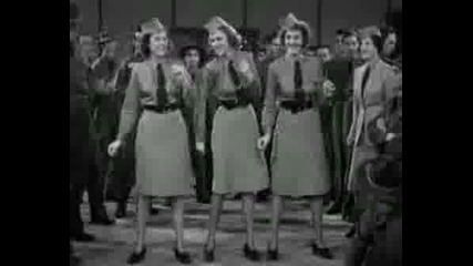 Andrews Sisters - Song & Dance - Boogie Wo
