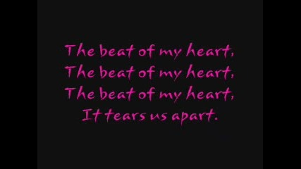 Hilary Duff - Beat Of My Heart + Lyrics
