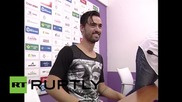 Spain: New Real Jaen signing wears FRANCO t-shirt during club presentation