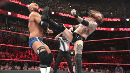 Aleister Black & Ricochet vs. The Revival: Raw, March 25, 2019