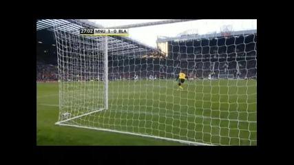 Манчестър Юнайтед - Блекбърн 3 - 0 гол на Бербатов