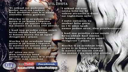 Aca Lukas - Stil zivota - (Audio 2012)