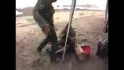 Смях - Пияни руснаци се бият на ловен излет