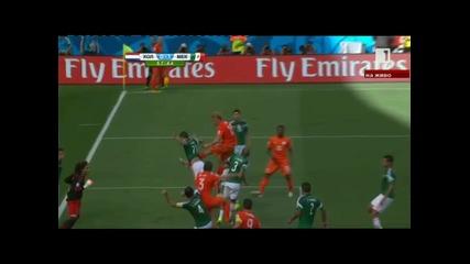 Холандия - Мексико 2:1