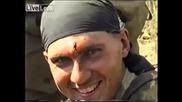 Руски войник с куршум в главата