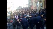 Стачката в Пловдив против намалената ваканция