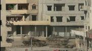 Терористи от ал-кайда унищожават Сирийски (саа) Т-72 в град Дераа