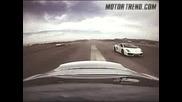 Това Не Се Вижда Всеки Ден Lamborghini Vs Ferrari Vs Chevrolette Corvette vs Ford Gt vs Slr vs R8