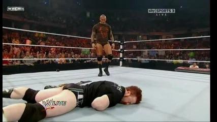 Wwe raw 20.09.2010 Randy Orton rko