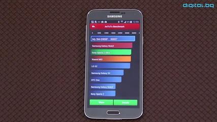 [бг] Най-бързият смартфон в света - 36 937 точки в Benchmark тест - Samsung Galaxy S5 Хардуер