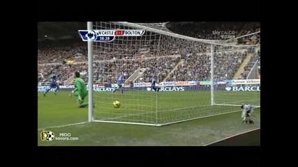 Нюкасъл - Болтън 1 - 1 гол на Стъридж