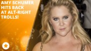 Amy Schumer blames the alt-right for poor reviews