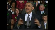 Обама призова американците да засилят натиска върху Конгреса за оръжейното законодателство