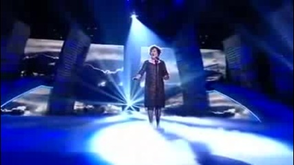 (hq) Susan Boyle - Memory from Cats - Britains Got Talent(полу финал)