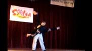 Monika Stoyanova and Angel Ortiz Freestyle - - Instructors presenting - - Prague 2007