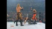 W W F Royal Rumble 2001 Острието и Кристчън с/у Дъдлитата