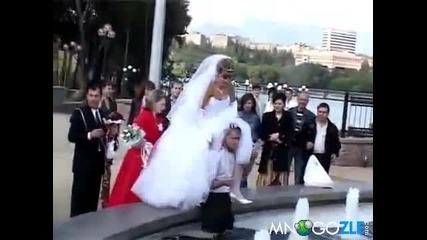 Разхлаждащ сватбен провал