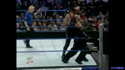 Разбиване 2008 - Гробаря срещу Джеф Харди - мач екстремни правила - целият мач