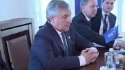 Борисов се срещна с председателя на ЕП Антонио Таяни