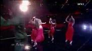 Жестоко Изпълнение на Hadise - Dum tek tek (евровизия 2009 Турция първия Полуфинал - Live) 12.05.09
