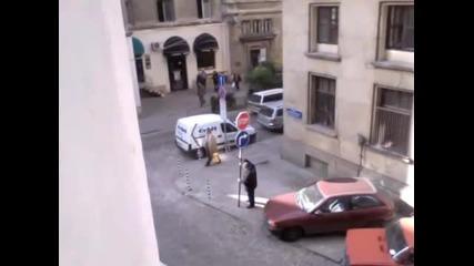 Как се паркира в центъра на София!