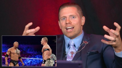 The Miz rewatches his awesome tag team match with R-Truth against The Rock & John Cena from Survivor Series 2011: WWE Pl