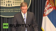 Serbia: PM Vucic condemns Hungary's anti-migrant wall proposal