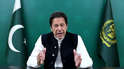 UN: 'Great humanitarian crisis looming' - Pakistan's Khan urges support for Afghan govt