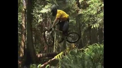 яка mountain bike компилация (downhill, freeride, dirt jump )