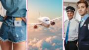 НЕ носете къси панталонки по време на полет! Това и още неща, за които съветва стюард