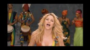 Shakira - Waka Waka ( This Time for Africa ) H D 2010 + lyrics