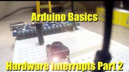 Arduino Basics Hardware Interrupts Part 2
