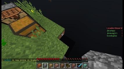 Minecraft-skywars Епизод #1 Не Съм Добър ;( :d