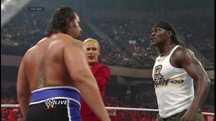 Alexander Rusev vs Xavier Woods Wwe Raw 14.04.2014