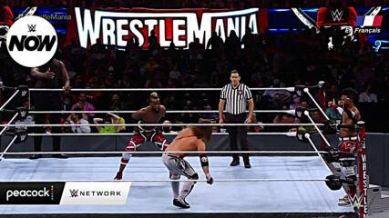 Les Résultats de WrestleMania 37 Nuit 1 – WWE Now en Français
