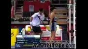 Новак Джокович удари с топка секси момиче на корта