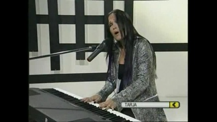 Tarja Turunen - I walk alone & The Reign (cmtv Argentina 2009)