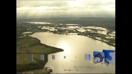 1600 къщи във Великобритания са наводнени след седмица на проливни валежи