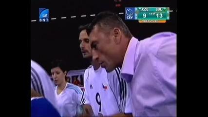 Евроволей 2009 България - Чехия част 16