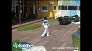 Vip Brother 3 - Преслава и Саша ритат топка